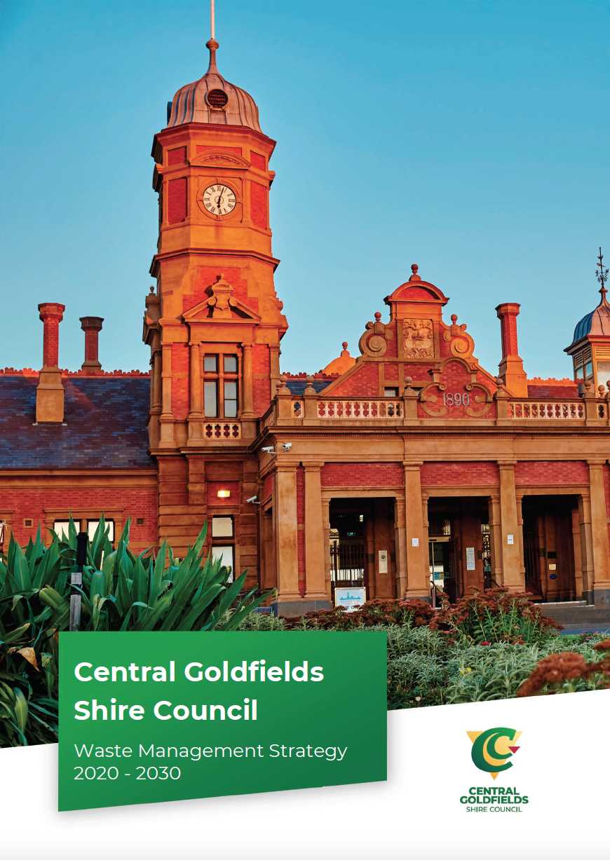 Central Goldfields Waste Management Strategy cover